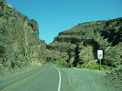 Picture canyon in the high desert of Oregon